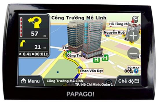 Máy định vị GPS dẫn đường PAPAGO Z3