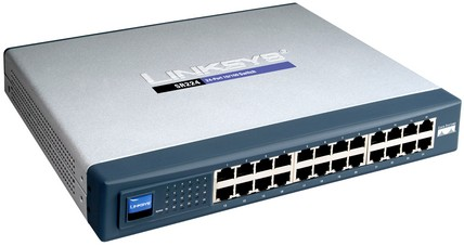 FAST ETHERNET SWITCH LINKSYS SR224T