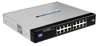 GIGABIT ETHERNET SWITCH LINKSYS SR2016T