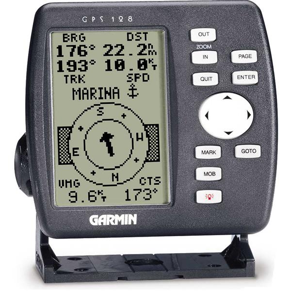 Máy định vị dùng trên biển GPS Garmin GPS128