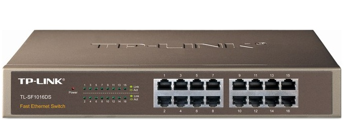 16-Port 10/100Mbps Switch TP-LINK TL-SF1016DS