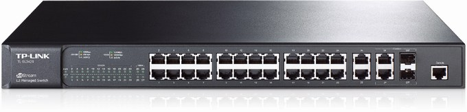 24 + 4-Port Gigabit Managed Switch TP-LINK TL-SL3428
