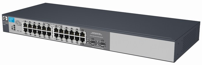 Smart-managed HP 1810-24G Switch - J9803A
