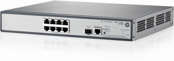 Gigabit Layer 3 HP 1910-8G-PoE+ 65W Switch-JG349A