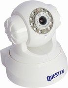 Camera IP QUESTEK | Camera IP hồng ngoại QUESTEK QTC-905