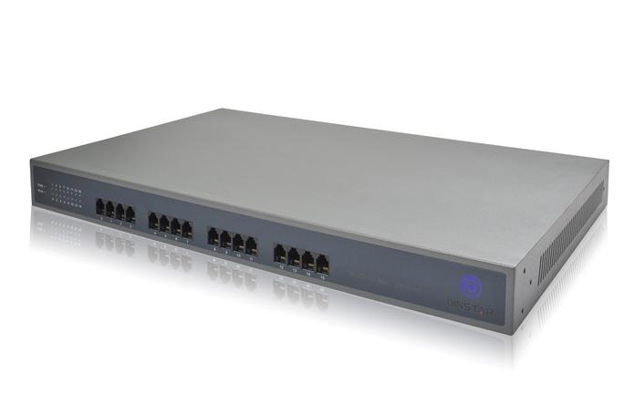 Analog VoIP Gateway Dinstar DAG2000-16S