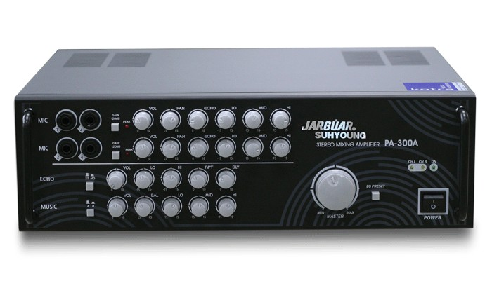 Stereo Mixing Amplifier JARGUAR PA-300A