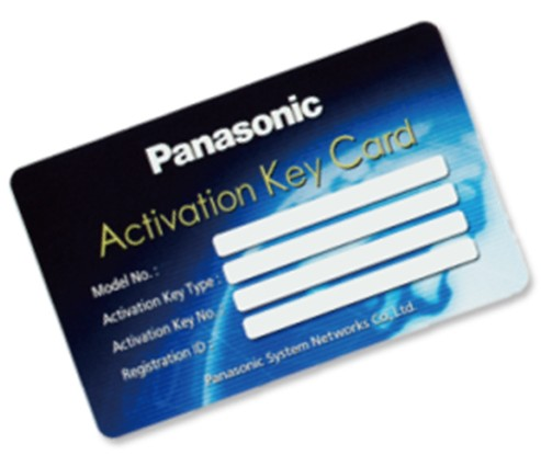 ACTIVATION KEY KX-VCS401