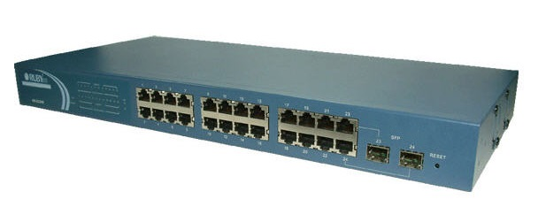 24-port 10/100Mbps Switch RubyTech ES-2226C/CD