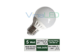 Đèn LED VinaLED | Đèn LED búp 5W VinaLED BLA-5W