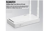 Thiết bị mạng TOTOLINK | 300Mbps Wireless N Router TOTOLINK N300RH