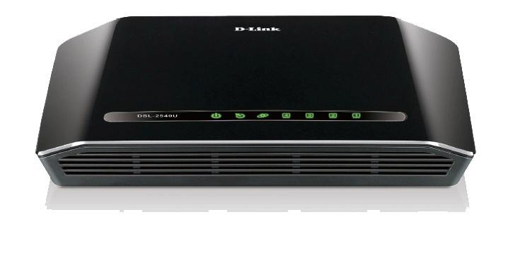 Router ADSL2/2+ D-Link DSL-2540U